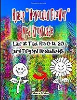 Hjælp Honolulu Flower Med Kronblade Lær at Tæl Fra 0 Til 20: Lær at Tilføj Med 1 Kronblad Blomst