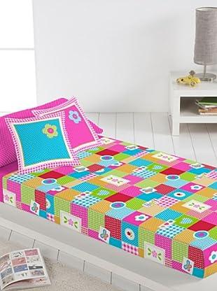 Lief Juego de Sábanas Patch Work Mariposa (multicolor)