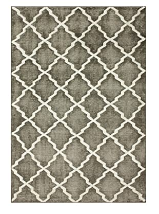 nuLOOM Contempo Trellis Rug (Grey)