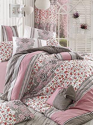 Colors Couture Bettdecke und Kissenbezug Silk