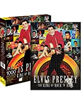 Aquarius Elvis Albums Puzzle (1000 Piece)