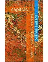RAPPORTI DA UN ALIENO - IL LIBRO: capitolo III (Italian Edition)