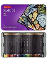 Derwent Studio Blister Fine Blendable Colour Pencil - Set of 36