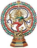 Nataraja (Inlay Statue) - Brass Statue with Inlay