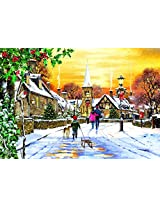 Village Streets A 300 Piece Jigsaw Puzzle By Suns Out
