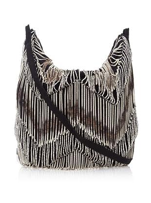 Ann Demeulemeester Women's Convertible Beaded Bag (Black/Silver)