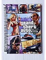 Grand Theft Auto 5 6 subject Note Book A4 300 pages