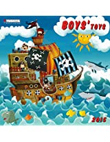Boys' Toys 2015 (Media Illustration)
