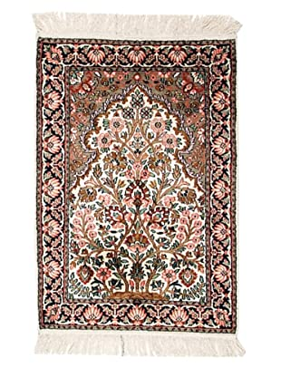 Roubini Srinagar Silk Fine Rug, Multi, 3' 1
