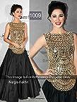 Nargis Fakhari Black Designer Piece