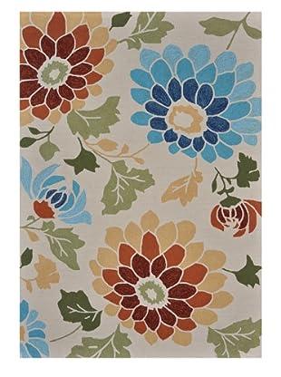 Vie fleurie tappeti floreali voga italia donne uomini - Tappeti outdoor ...