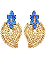 JFL- Jewellery for Less Angelic Awesome Gold Designer Pearls Earring.