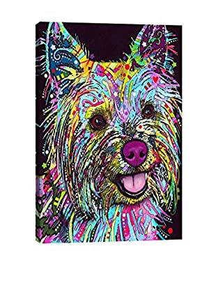 Dean Russo Yorkie Gallery Wrapped Canvas Print