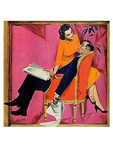 "Saturday Evening Post ""The Amount of Women Who Flirt..."", 35"" x 35"""