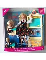 Vintage 1995 Mattel Teacher Barbie Doll Set #13914