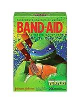 Band-Aid Brand Adhesive Bandages, Teenage Mutant Ninja Turtles, 20 Count (Pack of 6)