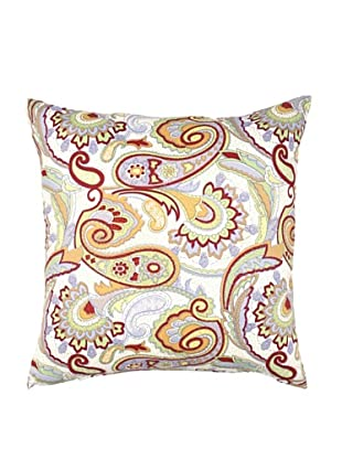 Image by Charlie Dynasty Decorative Pillow, White/Multi, 20