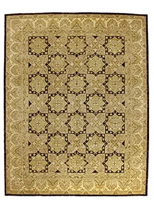 Bashian Rugs One-of-a-Kind Hand Knotted Mansehra Rug, Red, 8' x 10' 3