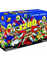 COBI Creative Power Freestyle Block Building Set, 1200 Piece Set