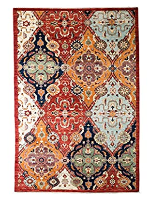 Solo Rugs Ziegler One-of-a-Kind Rug, Red, 6' 4