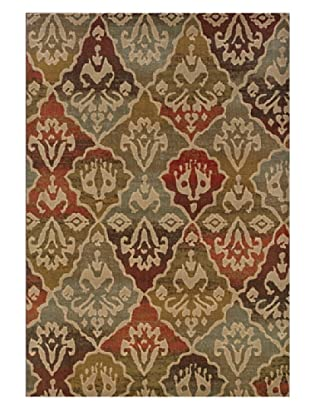 Granville Rugs Alahambra Rug (Tan/Copper/Multi)