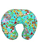 Wonderkids Multicolor Carnival Print Baby Feeding Pillow