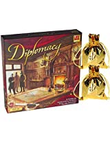 Diplomacy A Game Of International Intrigue, Trust And Treachery With 2 Bonus Gold Cloth Drawstring Pouches.