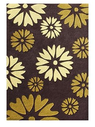 Horizon Rugs New Zealand Wool Rug (Chocolate/Honey Multi)