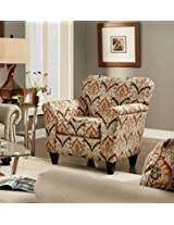 Chelsea Home Furniture Brindisi Accent Chair, Shaza Gold