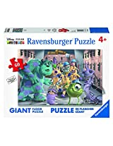 Ravensburger Disney Monsters Inc. The Whole Gang Floor Puzzle (60 Piece)
