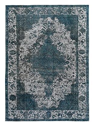 Kalaty One-of-a-Kind Pak Vintage Rug, Gray/Blue, 7' 10