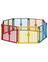 North States Superyard Play Yard, Colorplay, 8 Panel