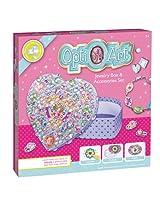 Faber-Castell - Opti Art Jewelry Box And Jewelry - Premium Kids Crafts