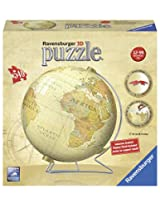 Ravensburger 3D Puzzle Ball, Vintage Globe, Multi Color (540 Pieces)