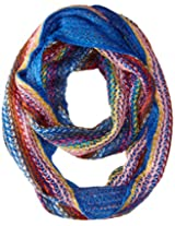 D&Y Women's Two Layer Knit Loop Infinity Scarf