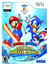 Mario and Sonic At The London Olympic Winter Games (Nintendo Wii) (NTSC)