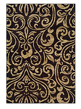 Granville Rugs Aiden Rug (Black/Tan/Cream)
