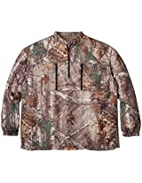 10X Men's Tall Ultra-Lite Long Sleeve Pullover with Elastic Cuffs, Real Tree Xtra, 5X