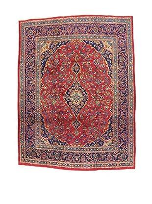 L'Eden del Tappeto Teppich Mashad rot/blau 321t x t243 cm