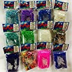 Official Rainbow Loom-Neon Orange Color - 600 pcs count Bands