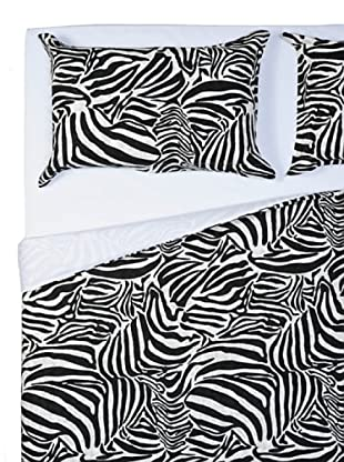Telerie Italiane Zebra Completo Copripiumino (Zebrato)