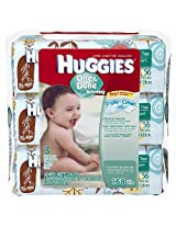 Huggies One And Done Baby Wipes - Cucumber And Green Tea 56 ct/ea - 3 Soft Packs