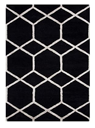 schwarz wei und grau graphic teppiche mode trends. Black Bedroom Furniture Sets. Home Design Ideas