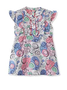 KANZ Girl's Woven Tunic (Multi Color)