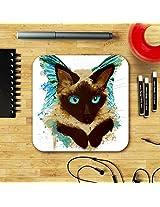 Angel Cat Coaster by Nina CollÚre