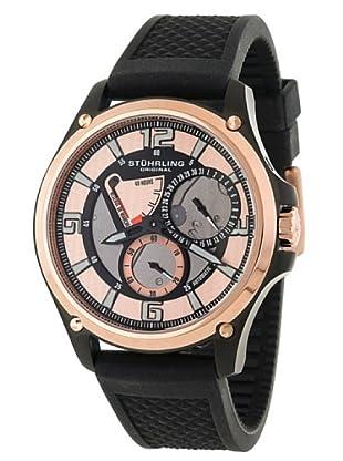 STÜRLING ORIGINAL 251.339655 - Reloj de Caballero movimiento automático con correa de silicona