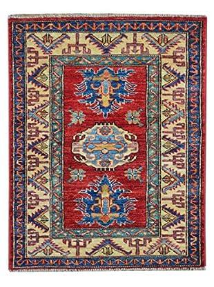 Kalaty One-of-a-Kind Kazak Rug, Red, 2' x 2' 10