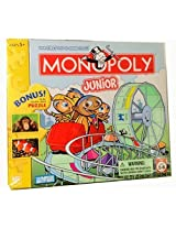Monopoly Junior With Bonus 50pc Double Sided Puzzle