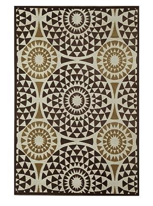 Rugs America Salerno Chenille Mosaic (Mosaic Chocolate)