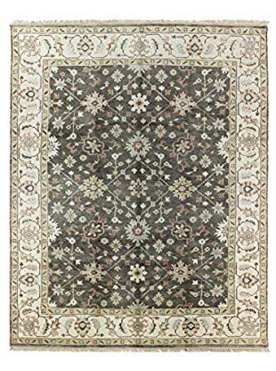 Bashian Rugs One-of-a-Kind Hand Knotted Indo-Oushak Rug, Taupe, 7' 10